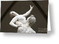 Sculpture Greeting Card by Jeremy Woodhouse