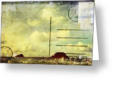 Sea And Cloud Postcard Greeting Card by Setsiri Silapasuwanchai