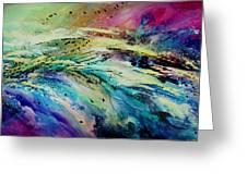 Sea Of Souls Greeting Card by Michael Lang