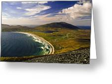 Seascape Vista Greeting Card by Gareth McCormack