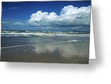 Seascape.normandy.france Greeting Card by Bernard Jaubert