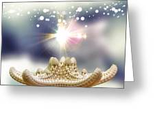 Seashell Splendor Greeting Card by Bill Tiepelman