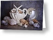 Seashells Greeting Card by Tom Mc Nemar