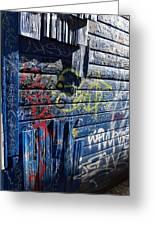 Seattle Graffiti Greeting Card by Randall Weidner