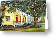 Sebastopol Plantation Greeting Card by Elaine Hodges