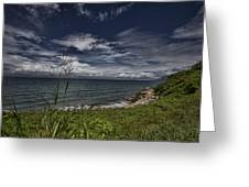 Secluded Cove Greeting Card by Douglas Barnard