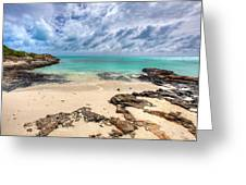 Secret of West Harbour Greeting Card by Chad Dutson