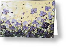 Serenity Greeting Card by Christine Krainock