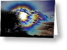 Serious Moonlight Greeting Card by Don Youngclaus