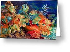 Shades Of Leafin An Imprint Greeting Card by Jo-Anne Gazo-McKim