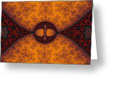 Shades Of Russet Greeting Card by Mark Eggleston
