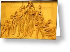 She Greeting Card by Arindam Raha