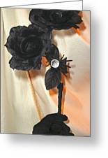 She Comes In Light Greeting Card by Jozy Me