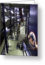 Shea Stadium Walkways Greeting Card by Paul Plaine