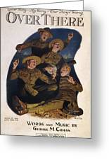 Sheet Music Cover, 1918 Greeting Card by Granger