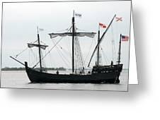 Ship 13 Greeting Card by Joyce StJames