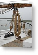 Ship 32 Greeting Card by Joyce StJames