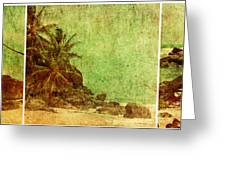 Shipwrecked Greeting Card by Andrew Paranavitana