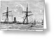 Shipwrecks, 1875 Greeting Card by Granger