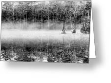 Shrouded Panoramic Greeting Card by JC Findley