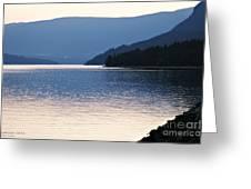 Shuswap Lake British Columbia Greeting Card by Jayne Logan Intveld
