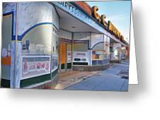 Shuttered Food Store Greeting Card by Steven Ainsworth