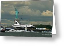Shuttle Enterprise 3 Greeting Card by Tom Callan