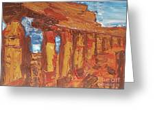 Sicily Greeting Card by Wayne LE ONE