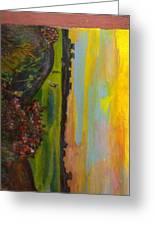 Sideways Greeting Card by Anne-Elizabeth Whiteway