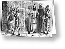 Siege Of Baghdad, 1258 Greeting Card by Granger