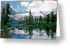 Sierra Greeting Card by Kurt Van Wagner