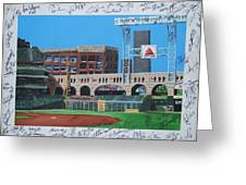 Signed Minute Maid Greeting Card by LEO ARTIST