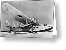 Sikorsky S-42 Greeting Card by Photo Researchers