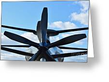 Sikorsky X2 Demonstrator Model Greeting Card by Lynda Dawson-Youngclaus