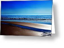 Silent Sylt Greeting Card by Hannes Cmarits