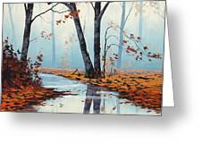 Silent Woods Greeting Card by Graham Gercken
