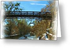 Silver City Big Ditch In Winter Greeting Card by FeVa  Fotos