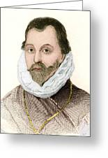 Sir Francis Drake, English Explorer Greeting Card by Sheila Terry