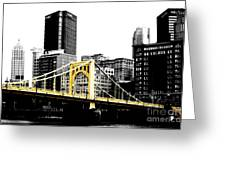 Sister #2 In Pittsburgh Greeting Card by Paul Henry