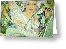 Sister Angel Greeting Card by Jackie Rock