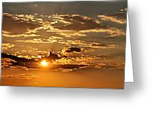 Sky Ablaze 1 Greeting Card by Marty Koch
