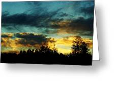 Sky Attitude Greeting Card by Aimelle