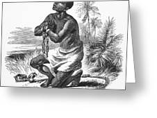 SLAVERY: ABOLITION Greeting Card by Granger
