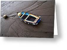 Small Boat Greeting Card by Svetlana Sewell