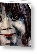 Smile Greeting Card by Paul Lovering