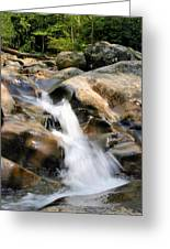 Smoky Mountain Flow Greeting Card by Kristin Elmquist