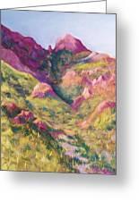 Smuggler's Gap Canyon Greeting Card by Candy Mayer