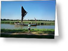 Snape Maltings Greeting Card by Charles Stuart