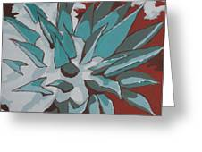 Snow Melt Greeting Card by Sandy Tracey