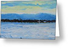 Snowed In Greeting Card by Fred Wilson